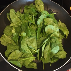2 cups raw spinach